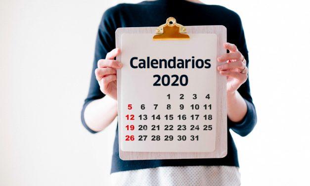 Ya tenemos calendarios