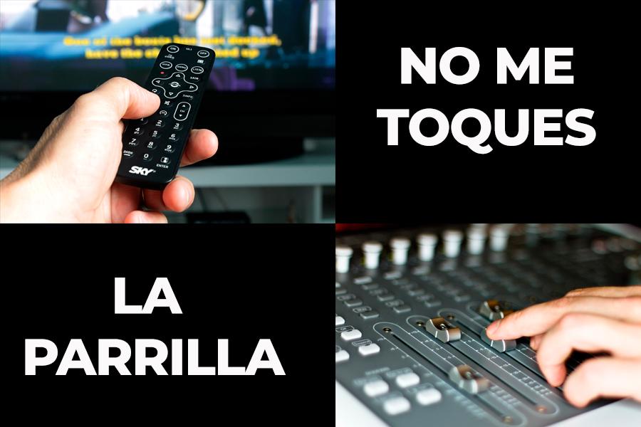 No me toques la parrilla