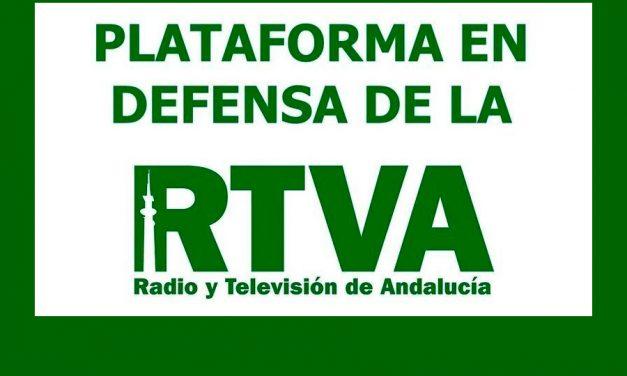 Nace la Plataforma en Defensa de la RTVA